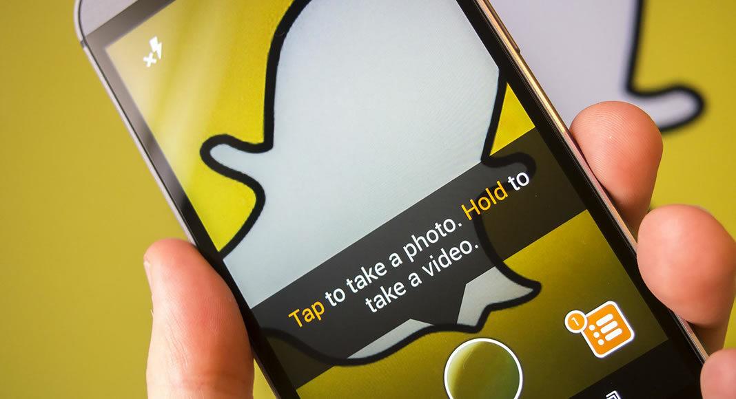 Snapchat no marketing político