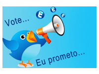 A propaganda eleitoral no Twitter assim como outras redes sociais pode gerar punição até mesmo para quem não é candidato.
