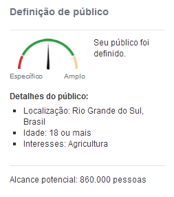 Segmentação de público no marketing político no Facebook
