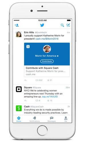Twitter terá serviço de doação a campanha eleitoral nos EUA