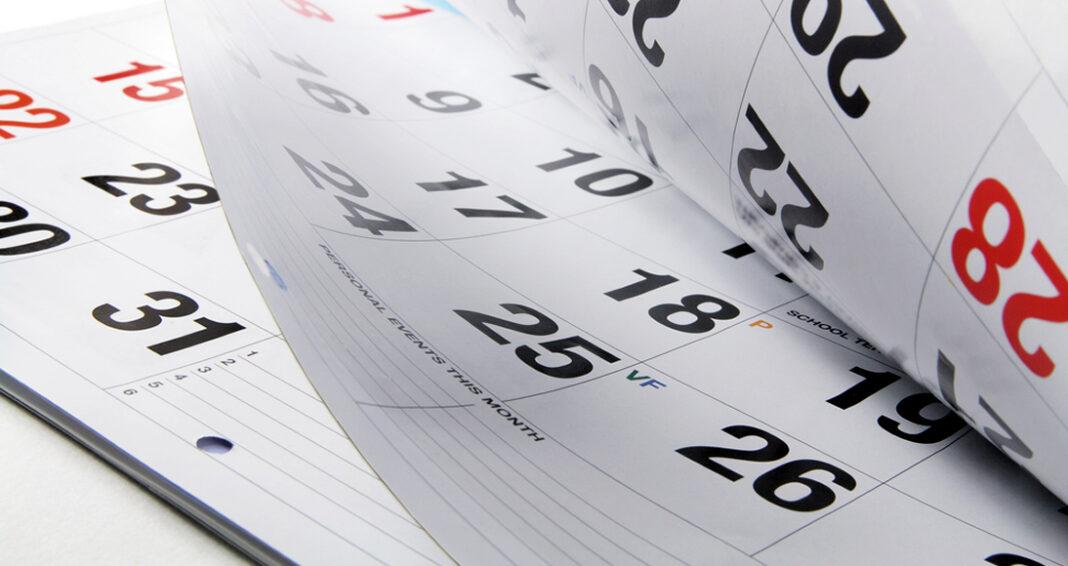 Calendário eleitoral de 2022